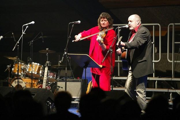 Lasse og Mathilde har leveret musik og sang til danskerne i over 40 år. Arkivfoto.