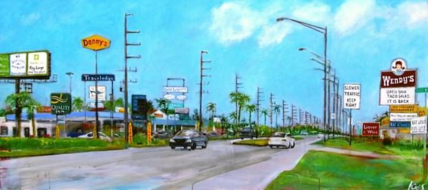 Knud Erik Sørensens Highway mod Key West i Florida.