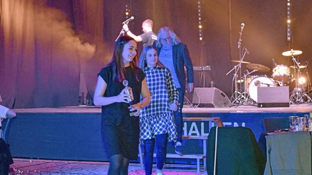 Nordjyske Medier og Thisted Dagblad pris Årets Sportsnavn gik til Thisted 3-F Ligahold i kvindefodbold FC Thy - Thisted Q. Foto: Ole Iversen Ole Iversen