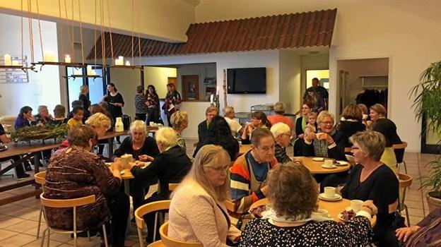 """Det er anden gang Frederikshavn Kirkecenter arrangerer """"Kvinder i alle aldre"""". Privatfoto"""