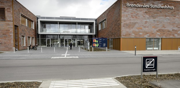 Overvægtsklinikken er på Sundhedshuset i Brønderslev.Arkivfoto: Peter Broen