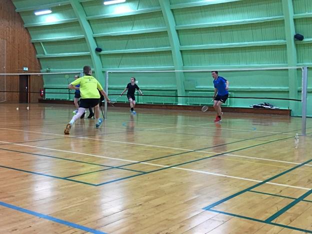 Fjerritslev Badminton Klub kan nu mønstre to seniorhold. Arkivfoto