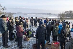 Protest mod DF-forslag: Naturfolk bed fra sig i kulden