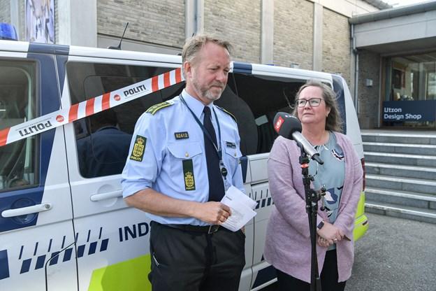 Steffen Bek og Carl Emil Nielsen og Susie Skov