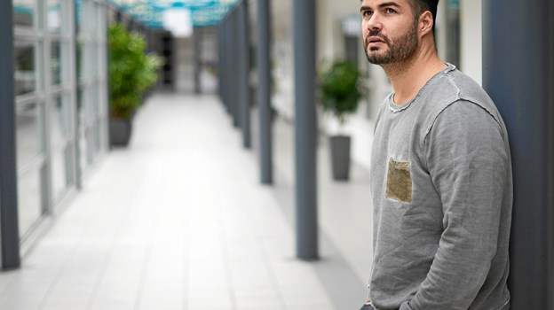 Daniel Svensson - taler 5. september om sin egen kamp mod kræft ved et arrangement i Arden Hallerne. PR-foto