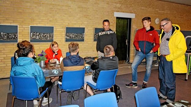 Enkelte af de i alt 215 hold mødte op søndag. Det gjaldt således dette hold fra Tyskland. Foto: Jørgen Ingvardsen Jørgen Ingvardsen