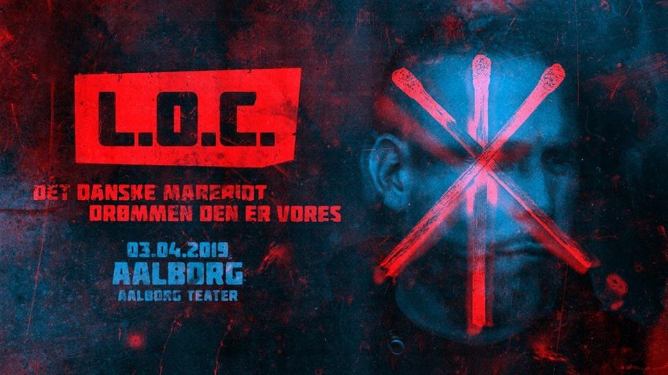 L.O.C kommer til Aalborg i det nye år. PR-foto