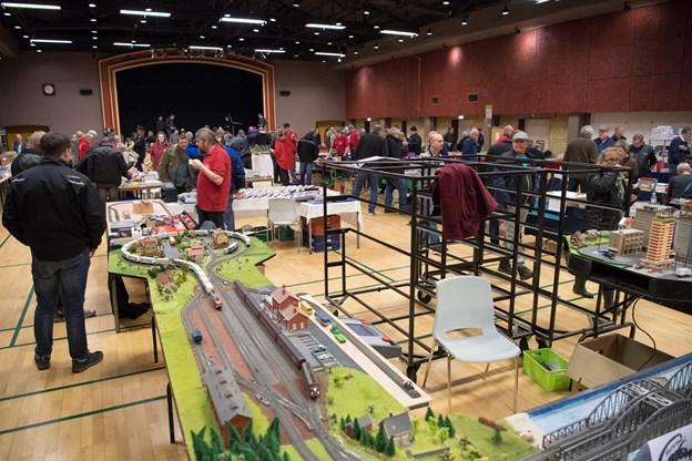 Der er hobbymesse i BooA i Bedsted på søndag. Arkivfoto: Diana Holm