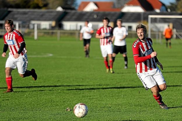 Hjemmeholdet klarede frisag efter en 6-2-sejr mod VHG/GS. Foto: Allan Mortensen