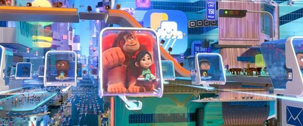 Internettet smadres i animationsfilmen Vilde Rolf 2, som kan ses på lørdag eftermiddag i Skagen Bio.