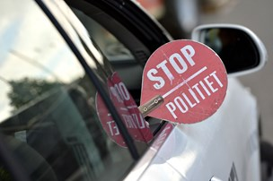 Bilist gad ikke stoppe: Ville ikke snakke med politiet