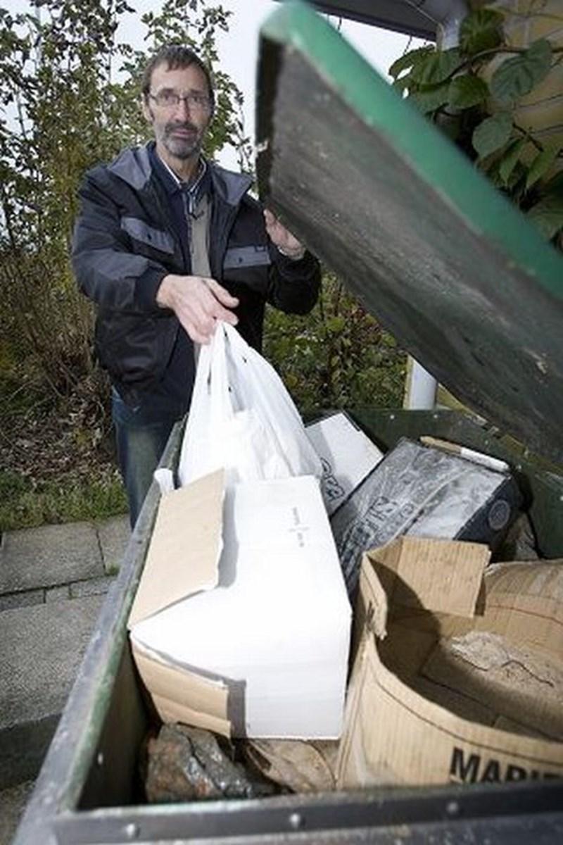 Ole Frederiksen har været tilfreds med den ordning, han har haft i mange år. FOTO: Bente Poder