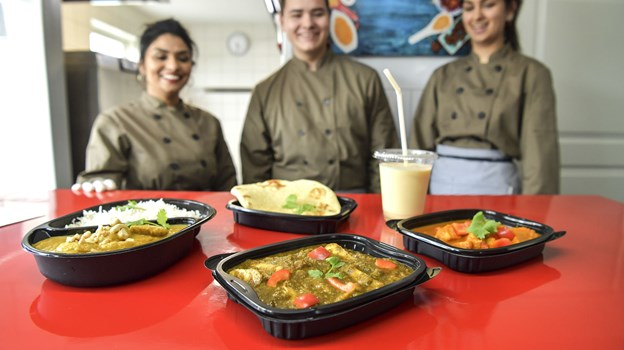 Der er en masse indiske hverdagsretter på menuen hos Bollywood Indisk Take Away. Foto: Michael Koch