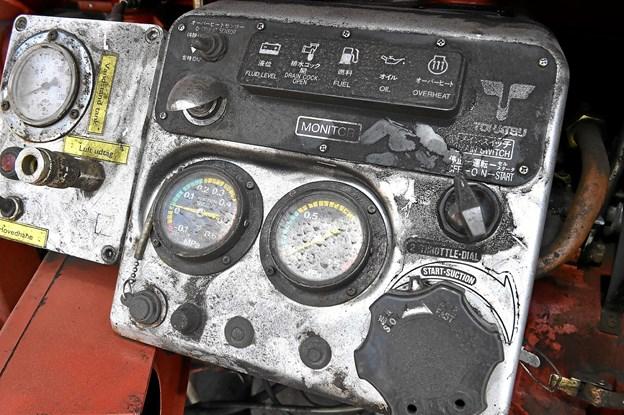 Alt var dækket af sod efter at have arbejdet i 20-30 cm pulveraske. Foto: Ole Iversen