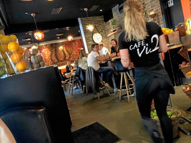 Cafe Vi2 fejrer 10 års fødselsdag.  Foto: Jimmy Bro Støvring