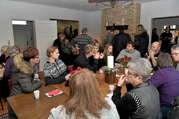 Der er for lidt plads i stueetagen til større møder. Arkivfoto: Niels Helver Niels Helver