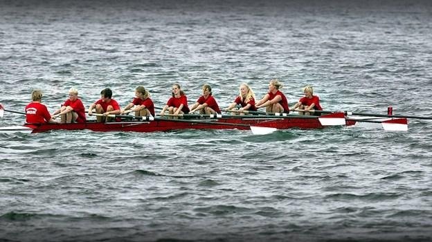 Roere fra Ægir på vandet. Arkivfoto: Torben Hansen