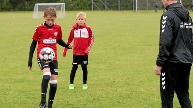 Der var gode muligheder for at træne teknikken. Foto: Allan Mortensen Allan Mortensen