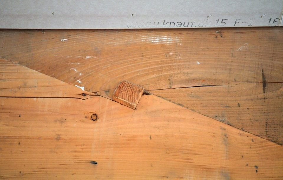 Detaljerne er noget af det, der gør badehotellet helt unikt. Foto: Claus Søndberg Claus Søndberg