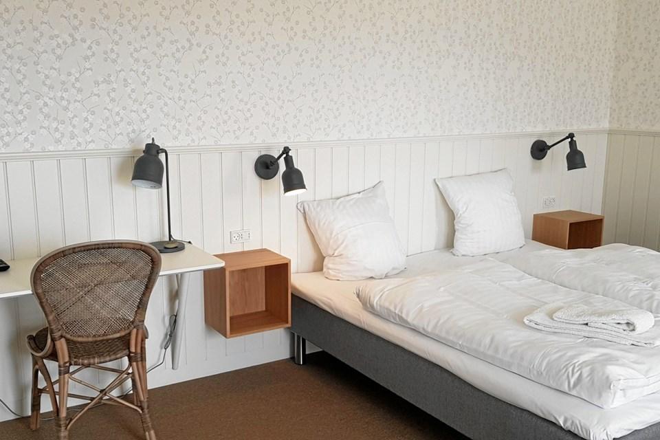 Gæsterne på Hotel Marie får rummelige, lyse og venlige og meget charmerende værelser. Foto: Ole Svendsen.