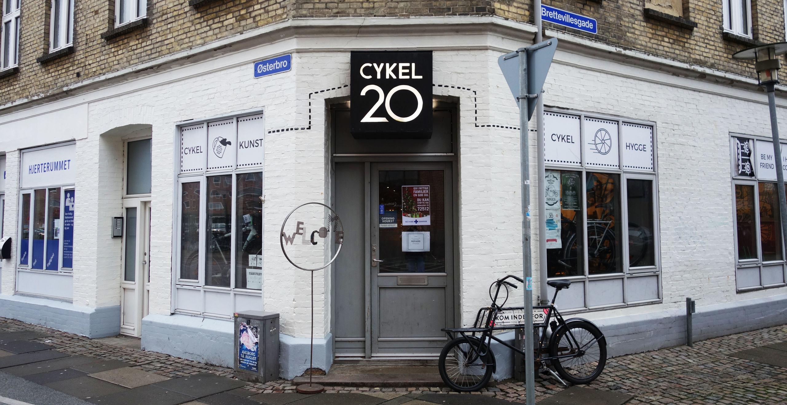 Cykelværkstedet Cykel20 har fået en stor donation fra Velux Fonden. PR-foto