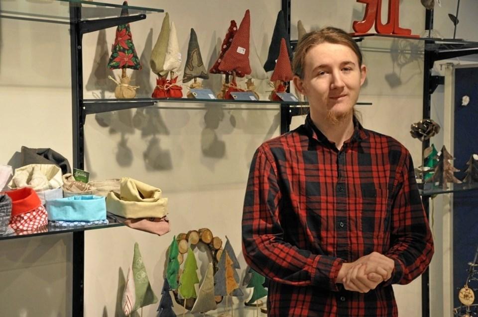 Elev Marcus Ankjer Nielsen fra Handel og Service på KUU (er citeret i pressemeddelelsen). Privatfoto