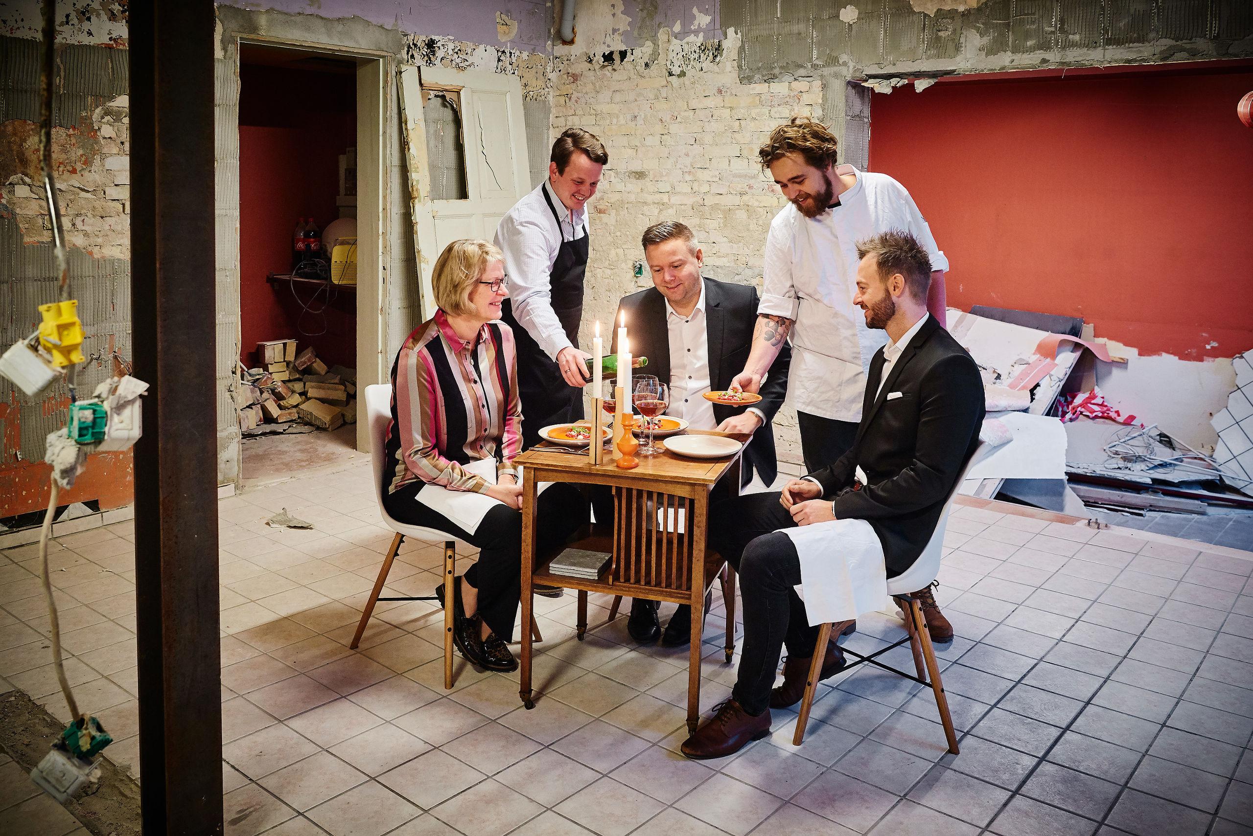 Tabu-chefer er gået: Nu starter de deres egen gourmet-restaurant
