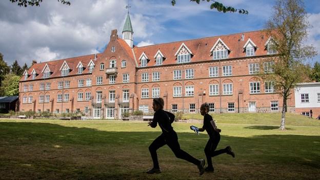 Den flotte gamle hospitalsbygning i Skørping e r opført i 1906. Martin Damgård