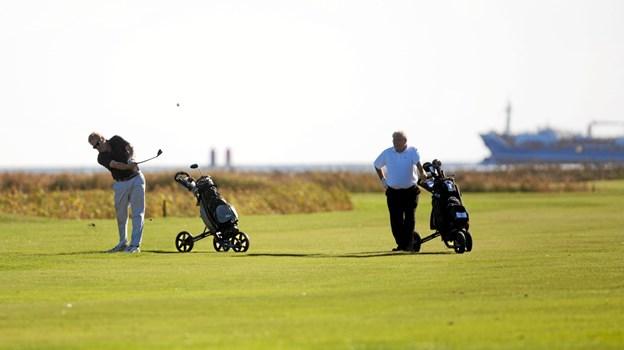 Den 28. april er der Golfens Dag hos Hals Golfklub. Foto: Allan Mortensen