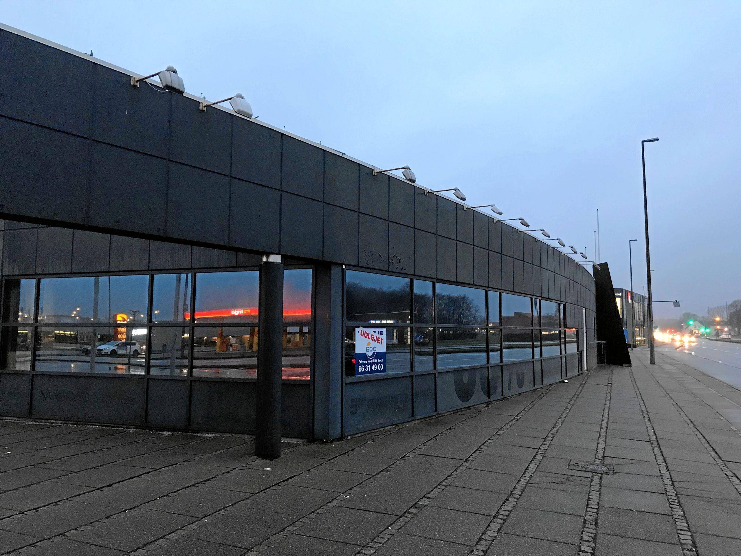 Den ny Netto-butik bliver på 1100 kvadratmeter og får et sted mellem 25 og 35 ansatte. Butikken får ikke døgnåbent. Foto: Torben O. Andersen