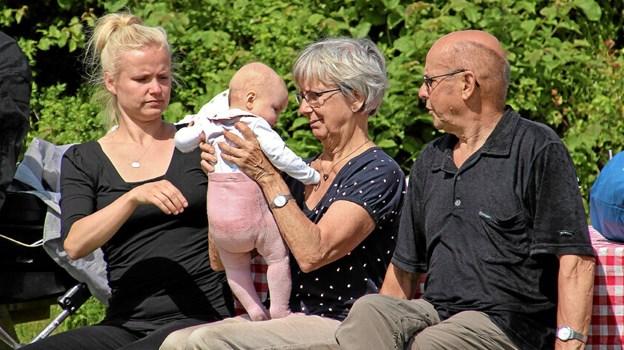 Flere generationer var sammen afsted. Foto: Hans B. Henriksen Ole Iversen