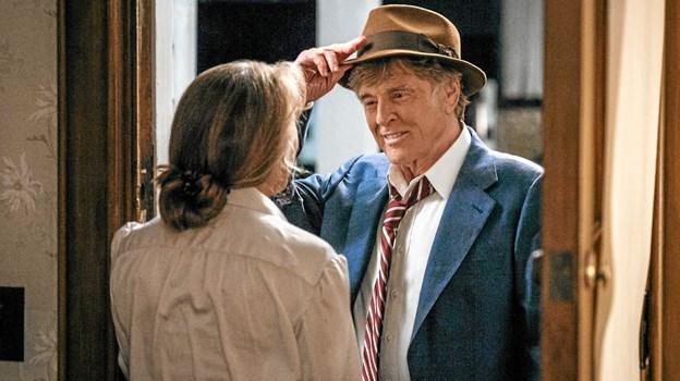 """I """"Den sidste gentleman"""" leverer Robert Redford en pragtpræstation som en charmerende bankrøver. Foto: Presse Presse"""