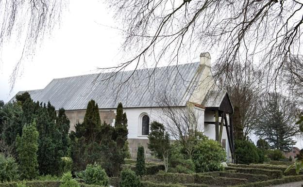 Man kan bla. komme i kirke i Brønderslev Gl. Kirke.Arkivfoto: Henrik Louis
