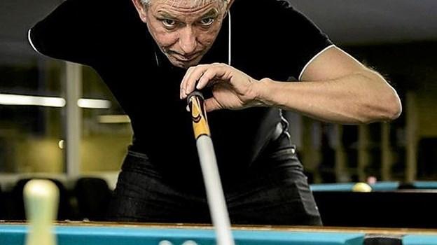 Johnny Sort blev elitespiller i Asaa BillardklubArkivfoto