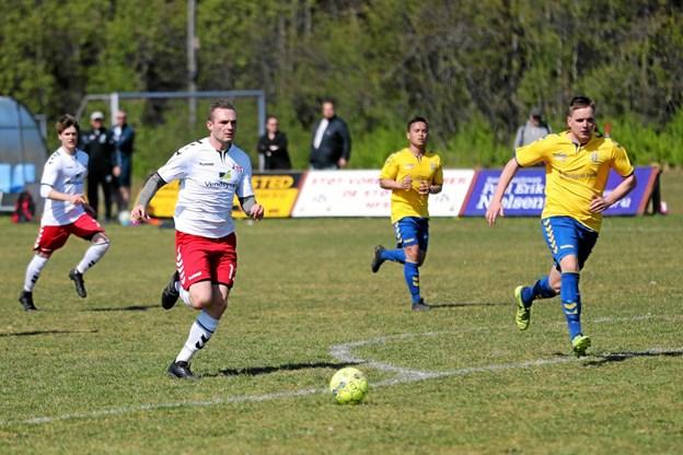 Hals i hvide bluser vandt mandag 3-1 hjemme over NUBI. Foto: Allan Mortensen Allan Mortensen