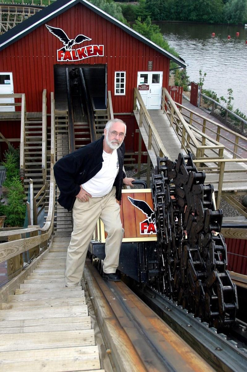 Søren Kragelund ved Falken.