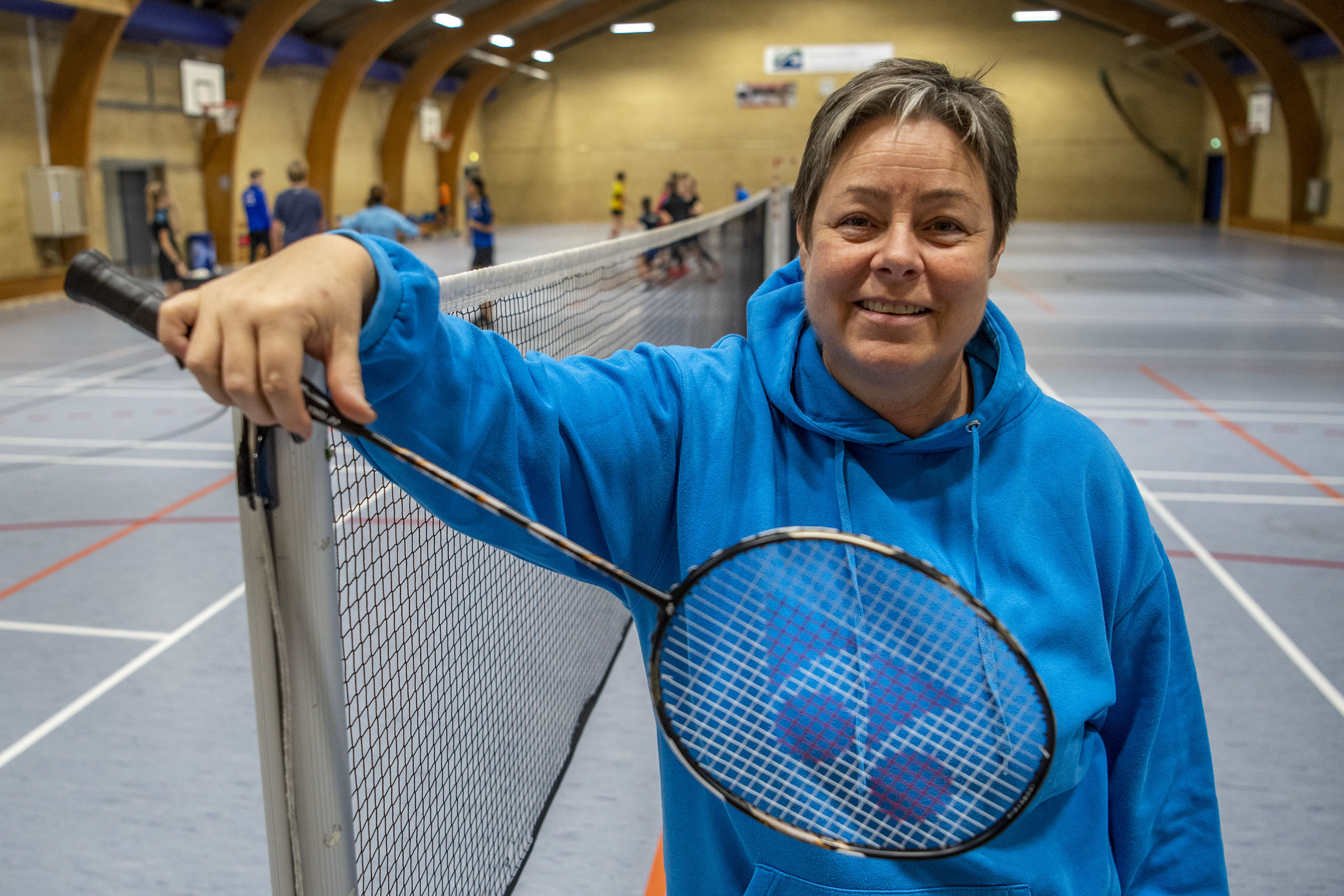 Gitte Paulsen er nomineret til prisen Årets Energibundt i DRs Sport 2018, der løber af stablen 5. januar. Foto: Andreas Falck