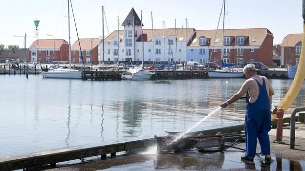 Boligforeningen Vesterport vil bygge anden etape af Havnefronten i Strandby. Arkivfoto: Peter Broen.