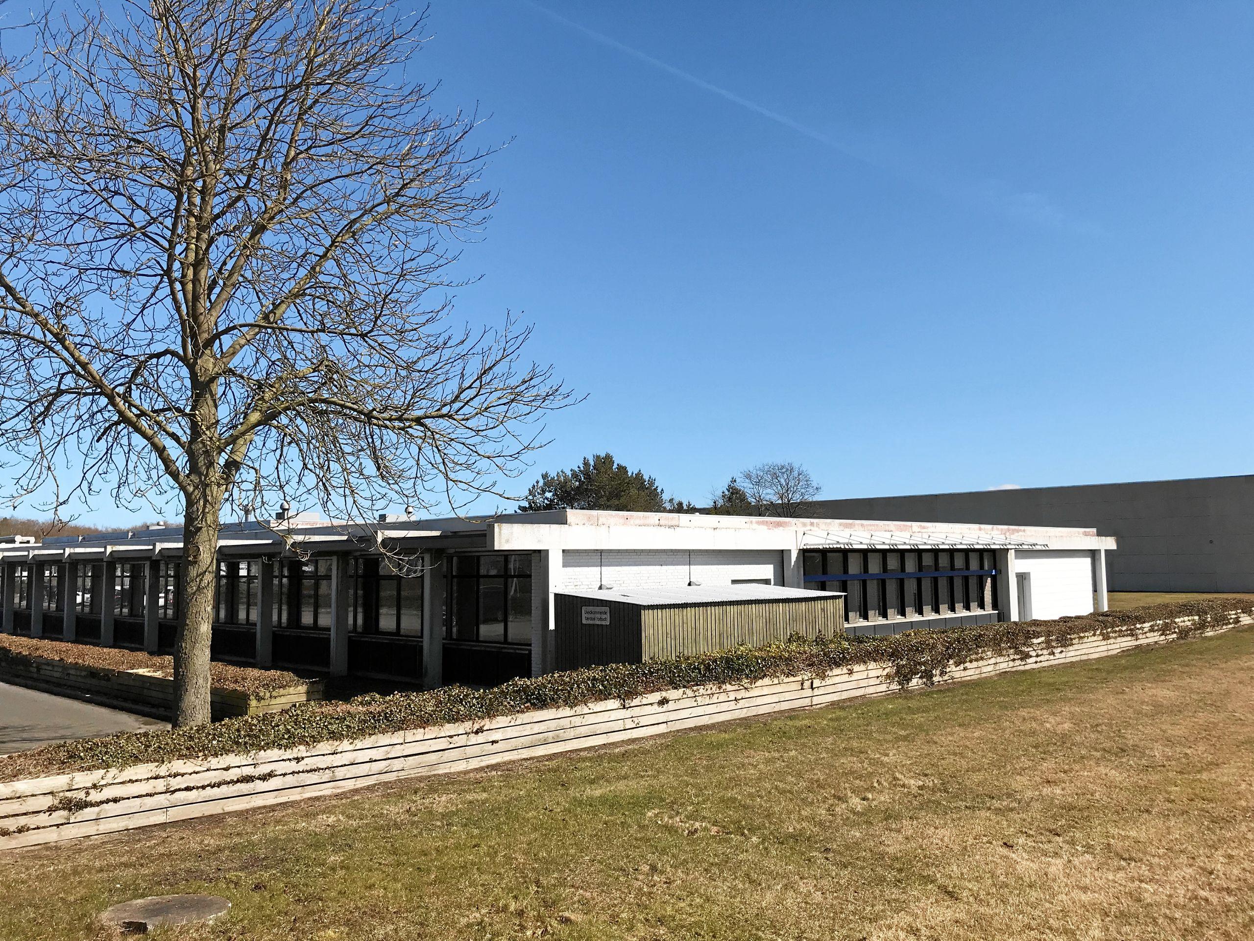 Det var her i Coops bygninger på Hobrovej 461 i Skalborg, at støtteforeningen for Victoriaskolen havde drømt om at kunne etablere den ny privatskole. Arkivfoto: Torben O. Andersen