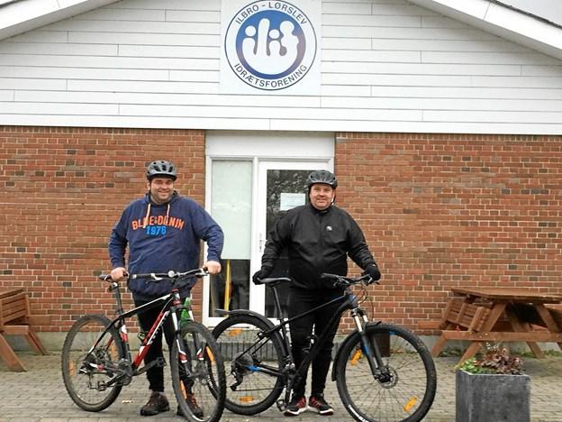 Mountainbike er rigtig godt, hvis man vil i gang med at motionere, men bærer rundt på nogle ekstra kilo, lyder det om et nyt tilbud i Ilbro-Lørslev IF.Privatfoto.