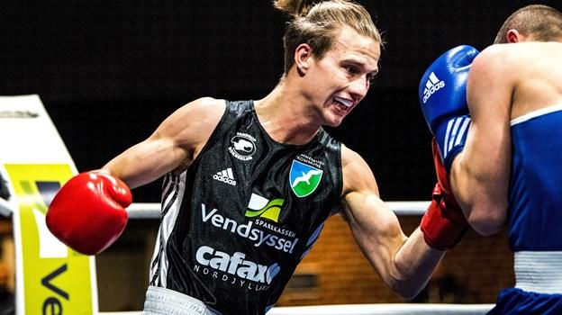Frederik Lundgaard Jensen vandt ny titel, selv om han var rykket en vægtklasse op. Arkivfoto: Laura Guldhammer