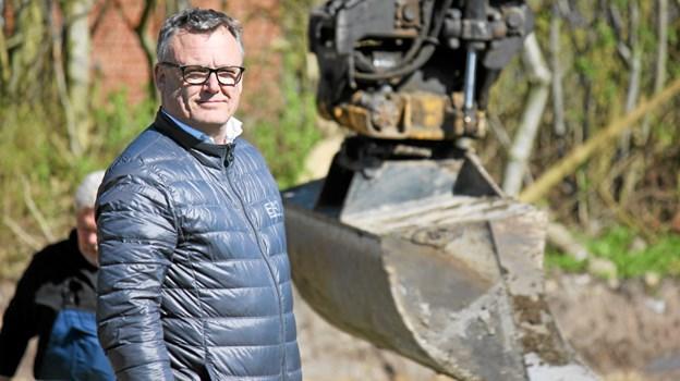 Lars Lindvang og Lindkon flytter til Aabybro. Foto: Flemming Dahl Jensen
