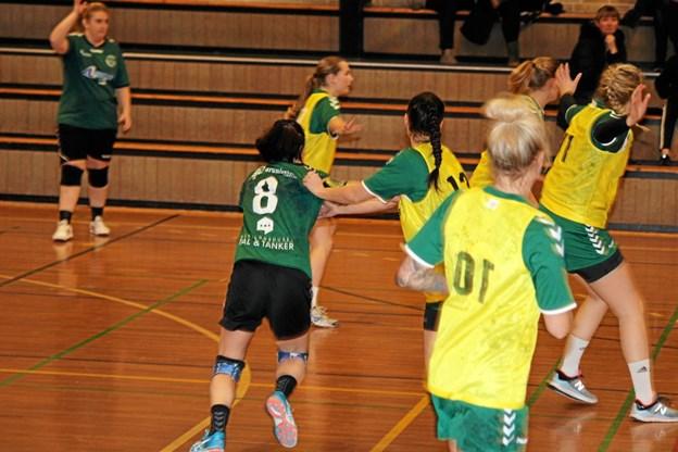 Det blev en hårdt spillet kamp. Foto: Flemming Dahl Jensen Flemming Dahl Jensen