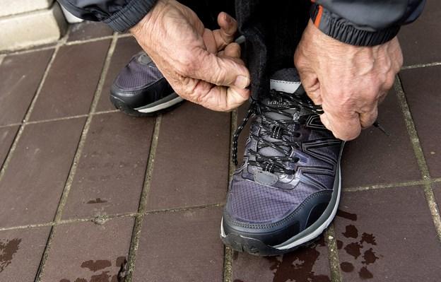 Jerslev Kirke inviterer folk på gåtur eller løbetur med samtale.Arkivfoto: Torben Hansen