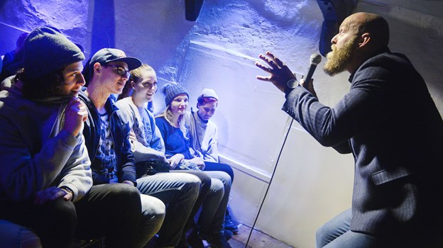 Event Aalborg Comedy Club i Maren Turis Gade danner rammen for showet. Arkivfoto: Bent Bach