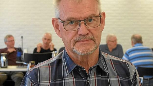 Henning Weber Karlsen håber, at den forening, han tog initiativ til efter massefyringen på MAN, vil bestå. Foto: Gunnar Onghamar