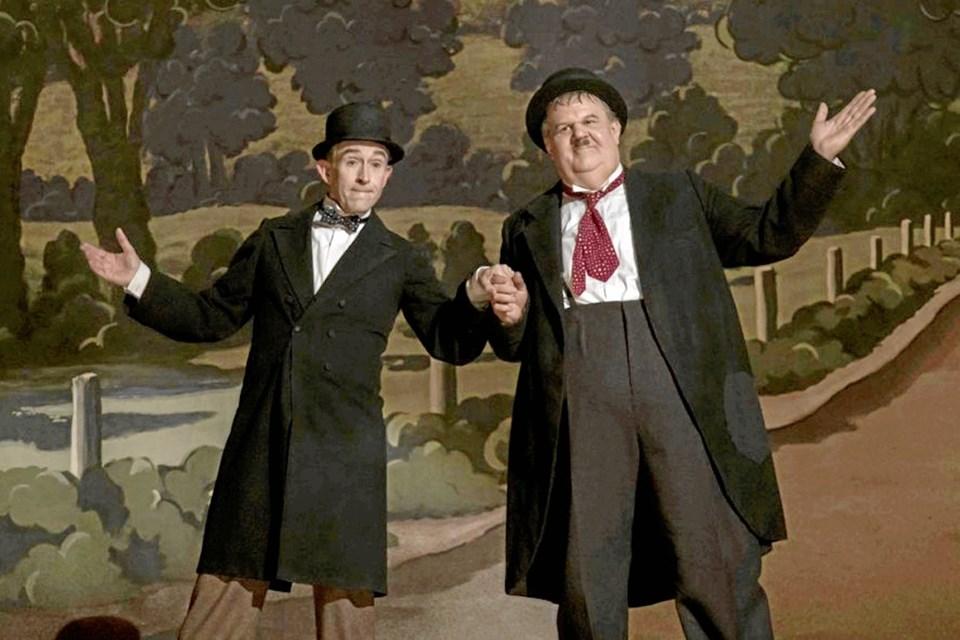 Gøg og Gokke kan opleves i Pandrup Kino.Pressefoto