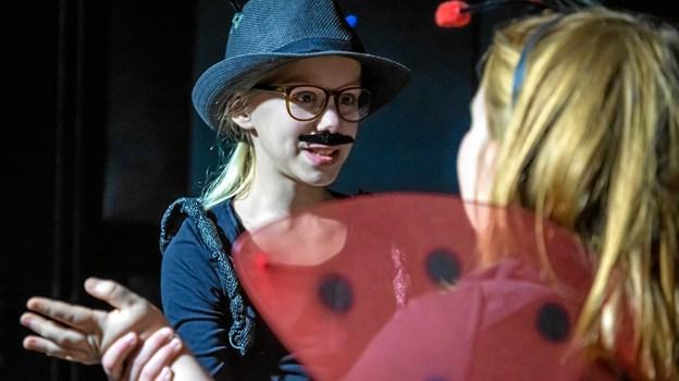 Drama kan du også lære på Mariagerfjord Kulturskole. Privatfoto