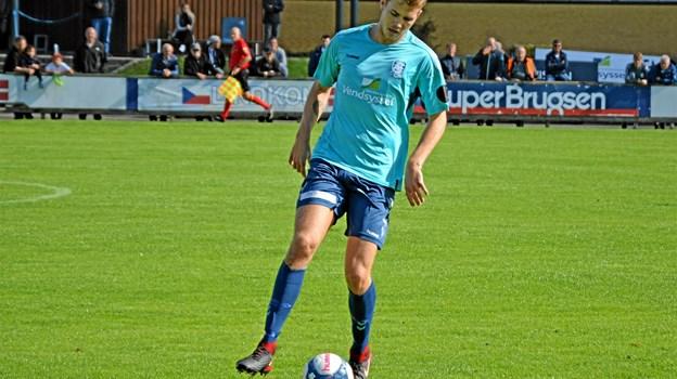 Lasse Steffensen skifter til Vendsyssel FF til sommer. Pressefoto