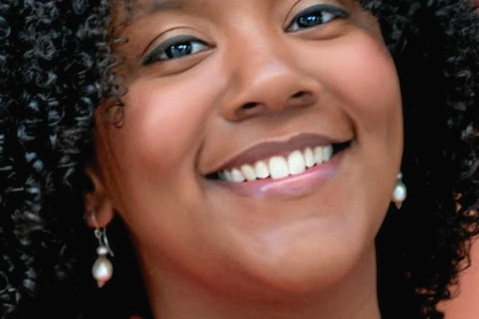 Indra Rios-Moore fra Manhattan, New York, sætter punktum for sommerens koncerter.  Privatfoto
